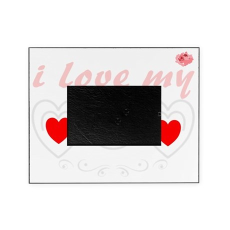 I Love Mom Hearts Picture Frame By Admincp1786879