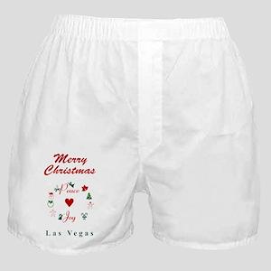LasVegas_5x7_Christmas Stocking Boxer Shorts