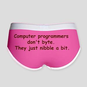 Programmers Women's Boy Brief