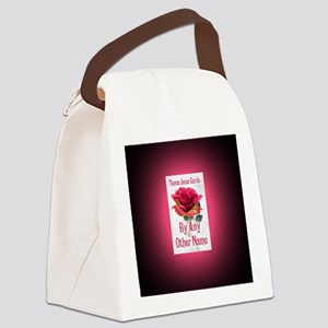 By Any Other Name button mag Canvas Lunch Bag