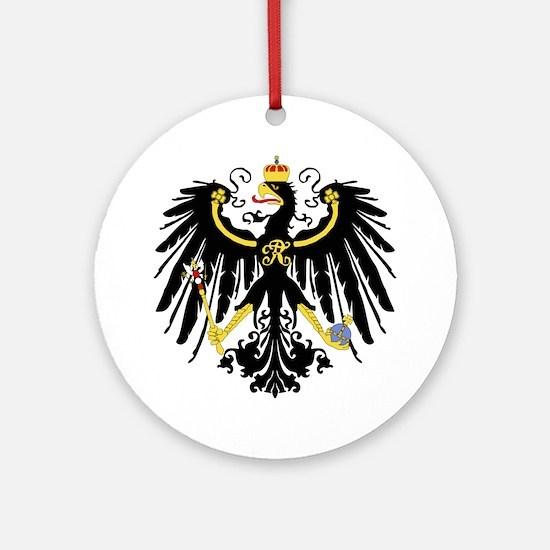 Cute German flag Round Ornament