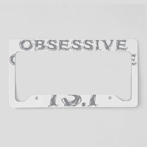 Obsessive Compulsive Distance License Plate Holder