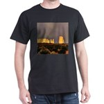 Monument Valley Storm Wall Dark T-Shirt