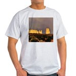 Monument Valley Storm Wall Light T-Shirt
