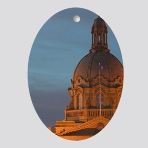Edmonton: Alberta Provincial Legisla Oval Ornament
