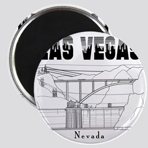 LasVegas_10x10_HooverDam_Black Magnet