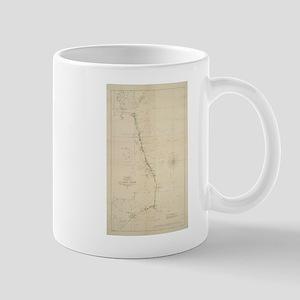 Vintage North Carolina and Virginia Coastal M Mugs