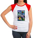 Dinosaurs of Rock Women's Cap Sleeve T-Shirt