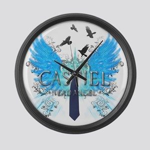 Nerd Angel 2 Large Wall Clock