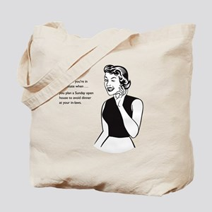 In Law Proof Excuse Tote Bag