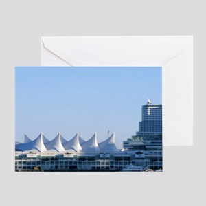 Cycling Stanley Park, Vancouver Brit Greeting Card