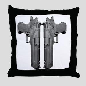 DesertEagle Throw Pillow