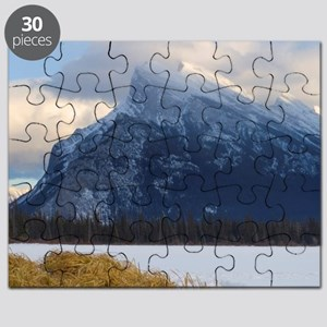 Mount Rundle and Vermillion Lake, Banff Nat Puzzle