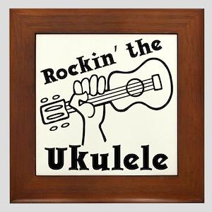 Rockin Uke, Jobber lower case Framed Tile