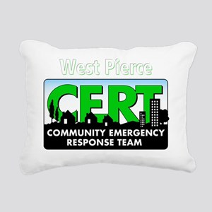 20111004 - CERT 2 Rectangular Canvas Pillow