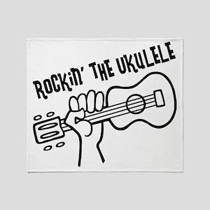 Rockin Uke, Surfer Throw Blanket
