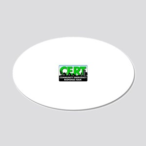 20111004 - CERT 20x12 Oval Wall Decal