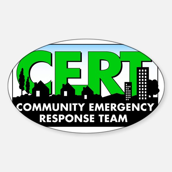 20111004 - CERT Sticker (Oval)