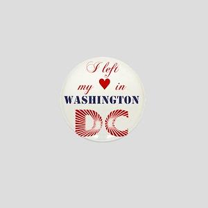 WashingtonDC_10x10_apparel_LeftHeart_B Mini Button