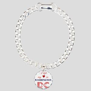 WashingtonDC_10x10_appar Charm Bracelet, One Charm