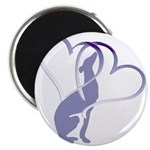 """Greyhound Hearts 2.25"""" Magnet (10 pack)"""