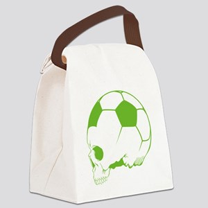 SkullSportsoccer3 Canvas Lunch Bag