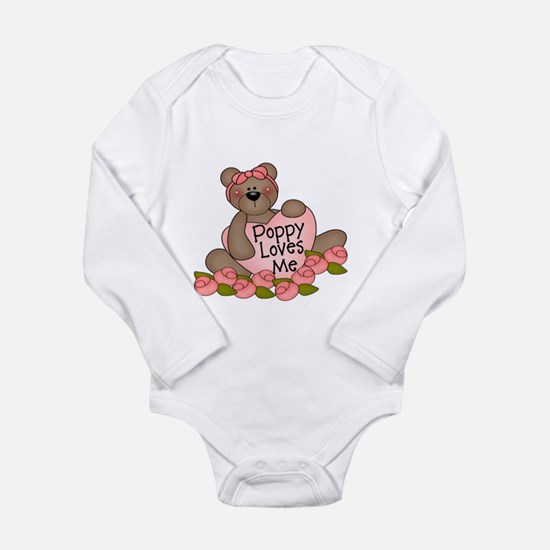Poppy Loves Me CUTE Bear Infant Bodysuit Body Suit