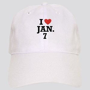 I Heart January 7 Cap