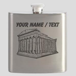 Custom Parthenon Flask