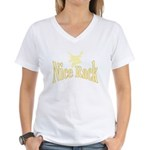 Deer Hunter Women's V-Neck T-Shirt