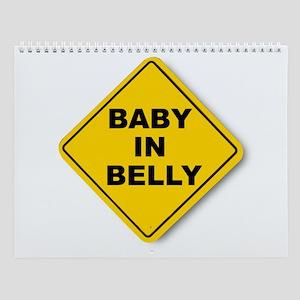 Baby in Belly Wall Calendar
