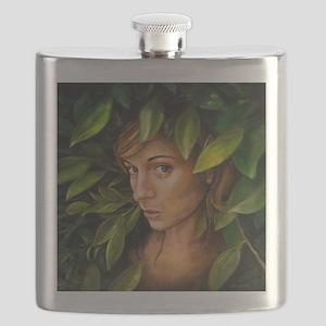 elf girl Flask