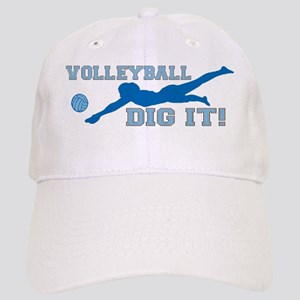 Volleyball Dig It blue Cap