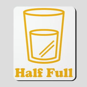 half_full Mousepad