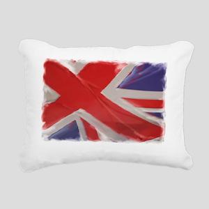 Flag-plain copy Rectangular Canvas Pillow