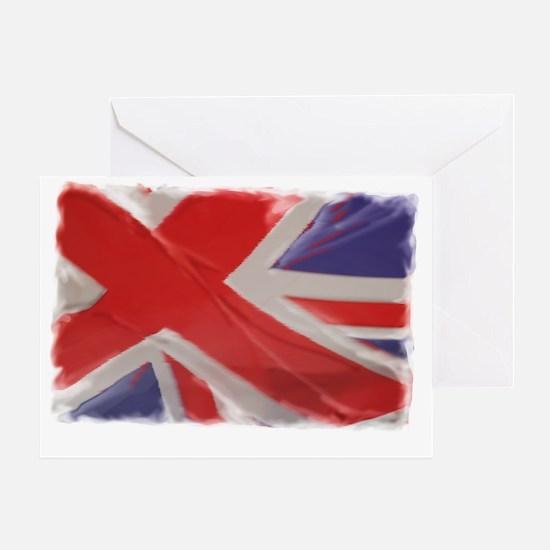 Flag-plain copy Greeting Card