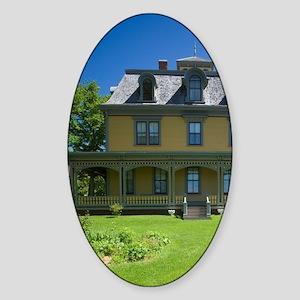 Charlottetown. Beaconsfield Histori Sticker (Oval)