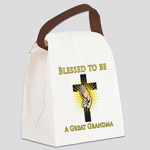 Blessed_GreatGrandma Canvas Lunch Bag