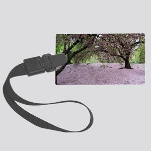 FallenCherryBlossomsMP Large Luggage Tag