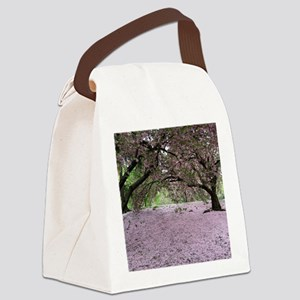 FallenCherryBlossomsMP Canvas Lunch Bag