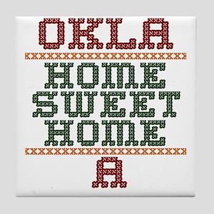OKLAHOMESWEETHOMEA Tile Coaster