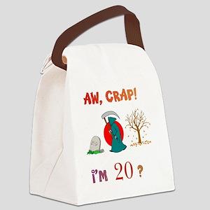AWCRAP20WXXX Canvas Lunch Bag