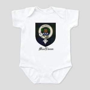 MacEwan Clan Crest Tartan Infant Bodysuit