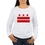 3 Stars 2 Bars Women's Long Sleeve T-Shirt