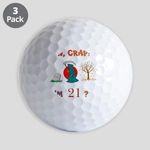 AWCRAP21WXXX Golf Balls