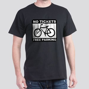 Bike No Tickets Black Dark T-Shirt