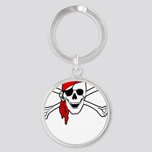 To Arr Is Pirate Adult White Round Keychain