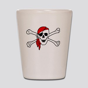 To Arr Is Pirate Adult White Shot Glass