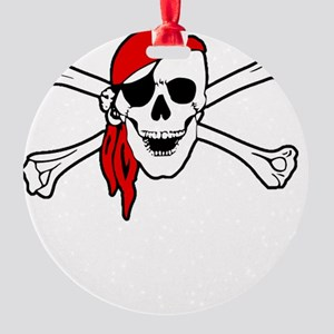To Arr Is Pirate Adult White Round Ornament