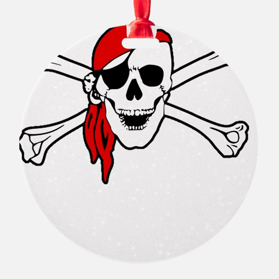 To Arr Is Pirate Adult White Ornament